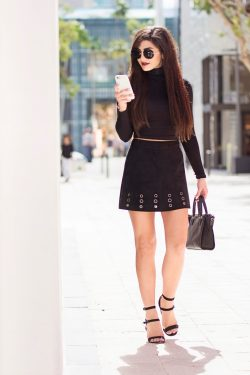 all black everything  |victoria's Vision
