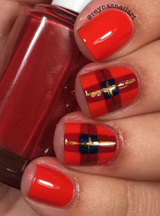 Fall Inspired Nail Art – Ahbsessed