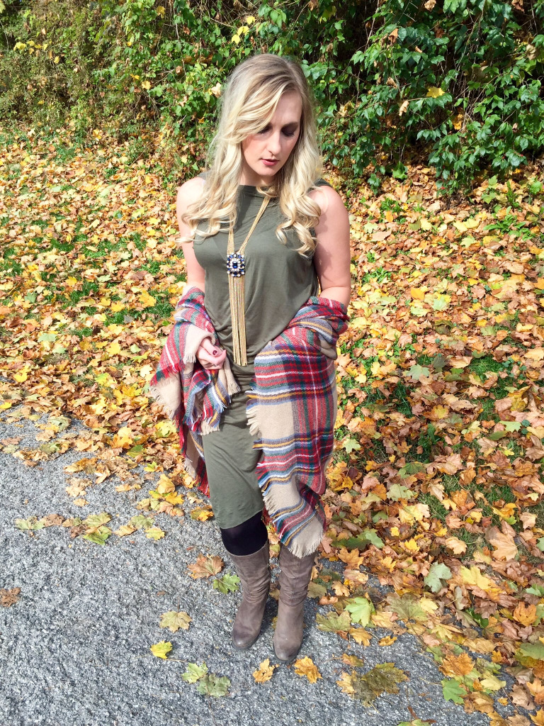 How to Wear a Blanket Scarf – Allyn Lewis