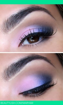 Blushing Blues | Maryam M.'s (Maryam) Photo | Beautylish