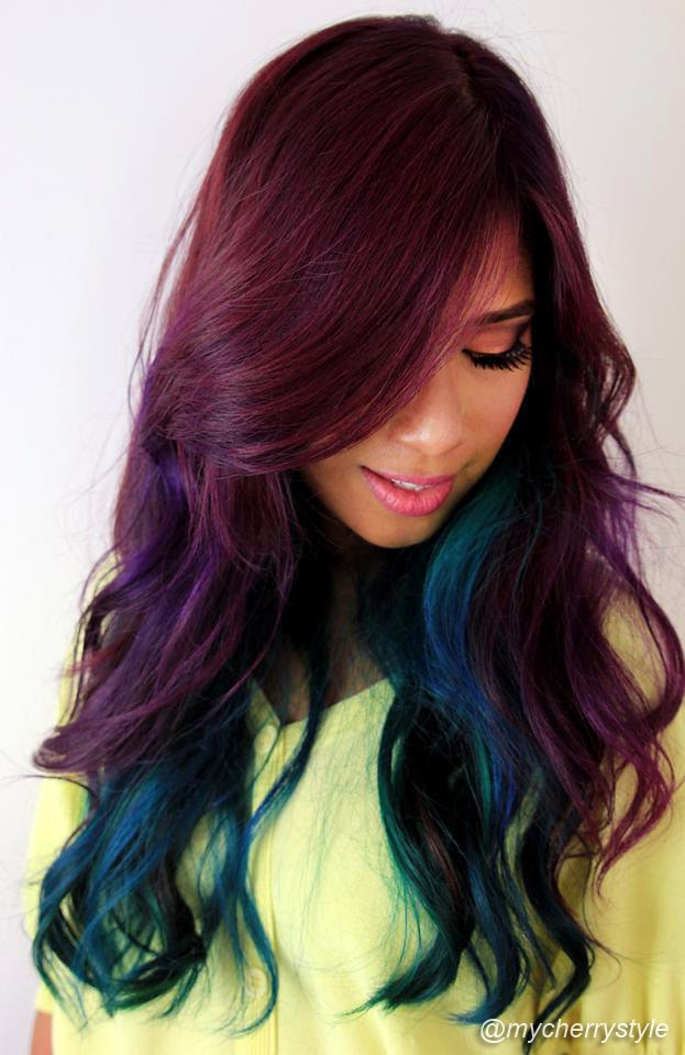 Crazy Hair Colours What You Need To Know My Cherry Style Glitz