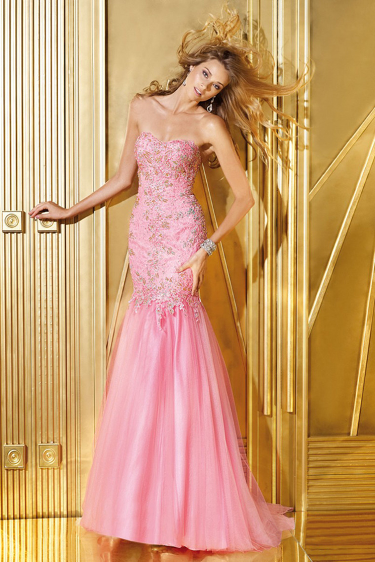 Tulle Mermaid Sweetheart Dress