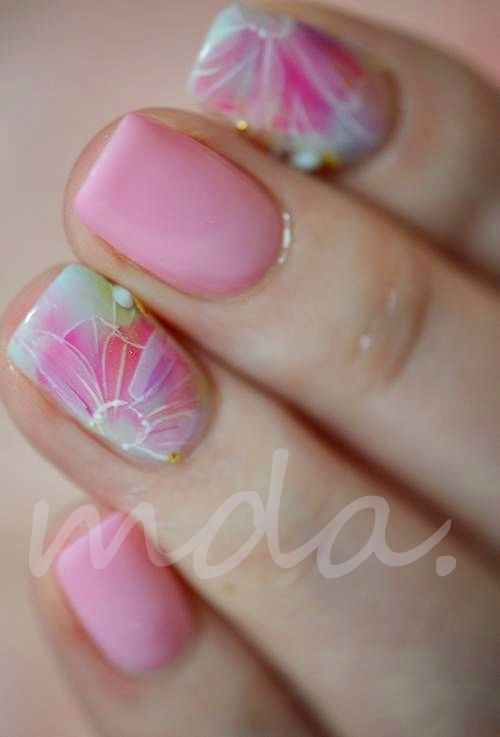 15 Easy Pretty Nail Art Designs, Ideas, Trends & Stickers | Fabulous Nail Art Designs