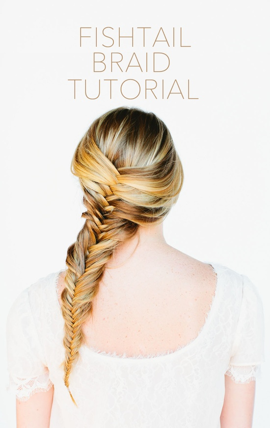 fishtail-braid-tutorial – Once Wed