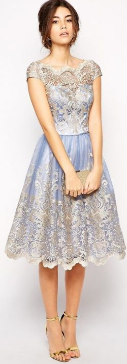 Fitted Evening Dresses in Embroidery collection – Womenitems.Com