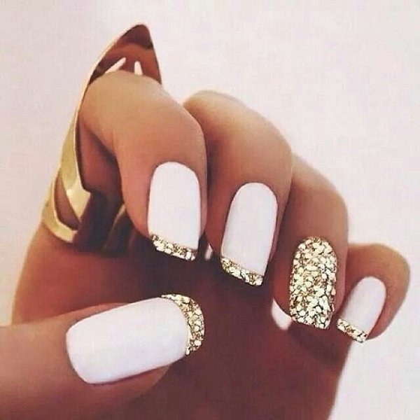 30 French Manicure Nail Art Designs amp Ideas Meet The B Glitz