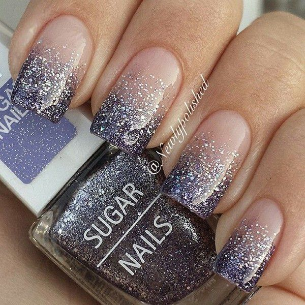 Glitter Ombre Nails Ideas for Modish Girls – Womenitems.Com
