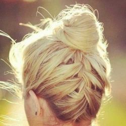 Long Hair Cute Updo