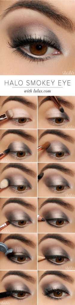 LuLu*s How-To: Halo Smokey Eye Shadow Tutorial – Lulus.com Fashion Blog
