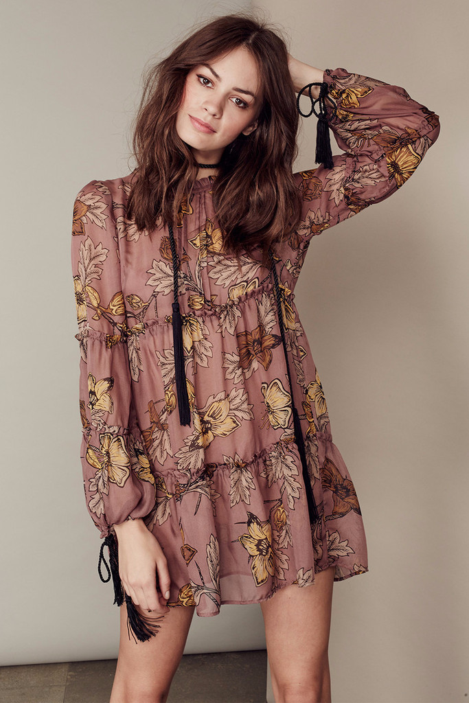 SANTA ROSA MINI DRESS – For Love & Lemons