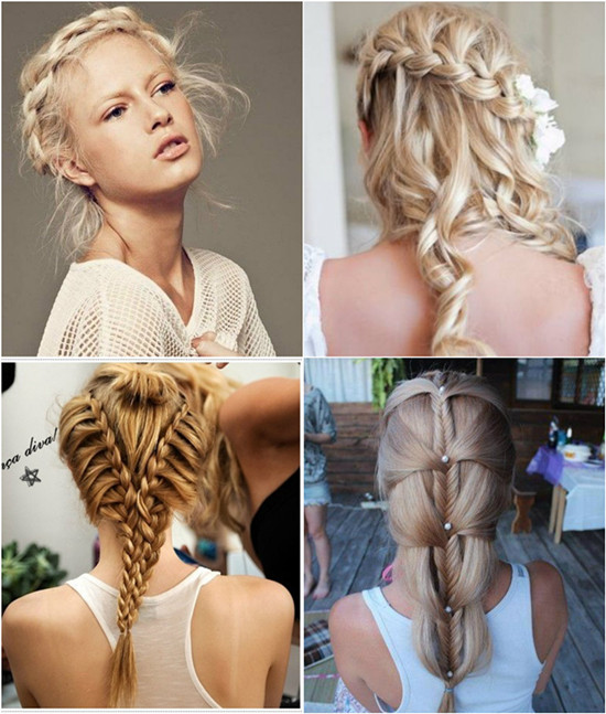 Six Braided Crown Cart Braided Hairstyles ideas designs 2016