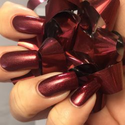 Sparkly Red Nails by suger23 | Preen.Me