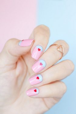 30 Sweet Valentine's Day Nail Art Designs We Love – Meet The Best You
