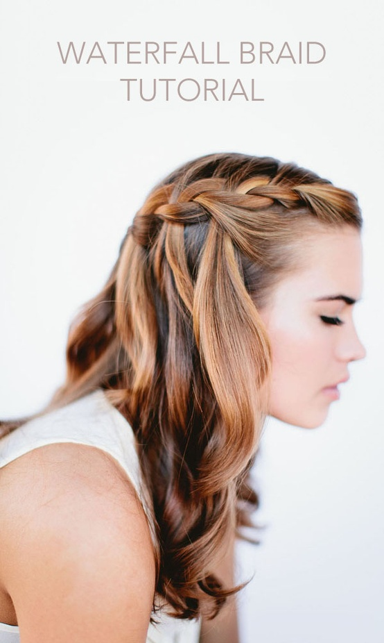 waterfall-braid-wedding-hairstyles-for-long-hair – Once Wed