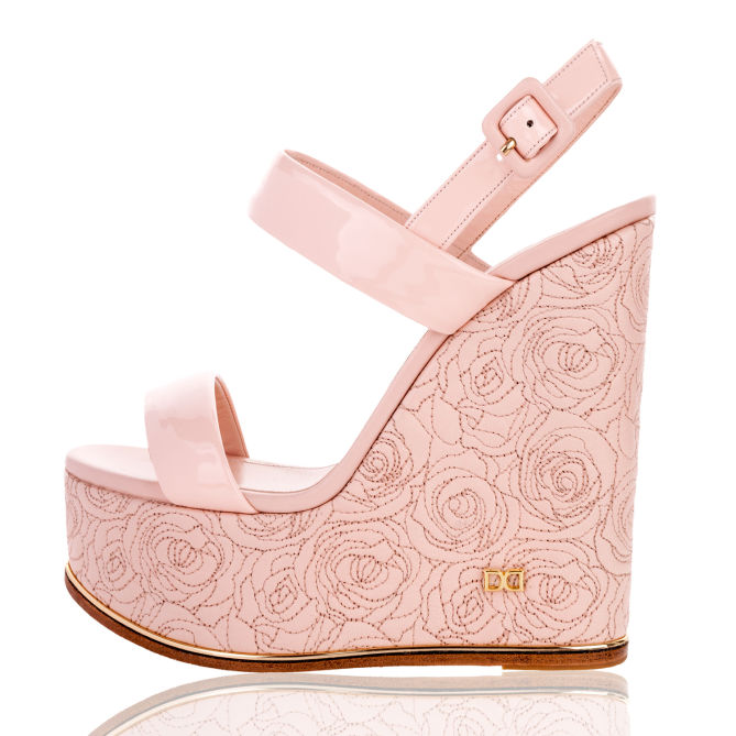 DUKAS Wedge Roses – Shoes Post