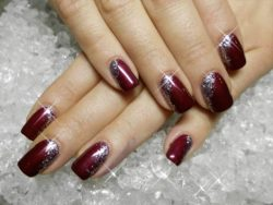 New and stylish nail art design