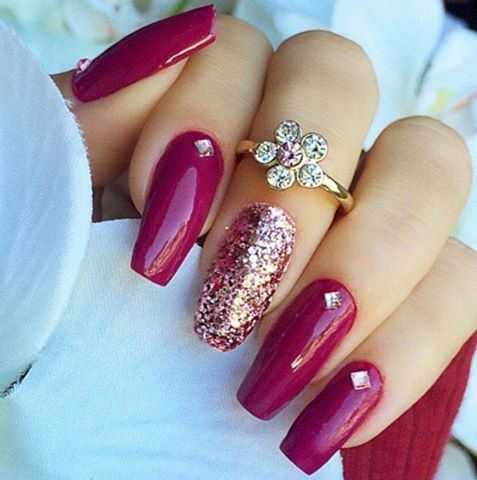 Latest nail art fashion