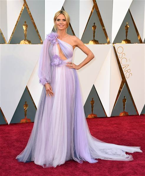 Oscars 2016 red carpet – Heidi Klum