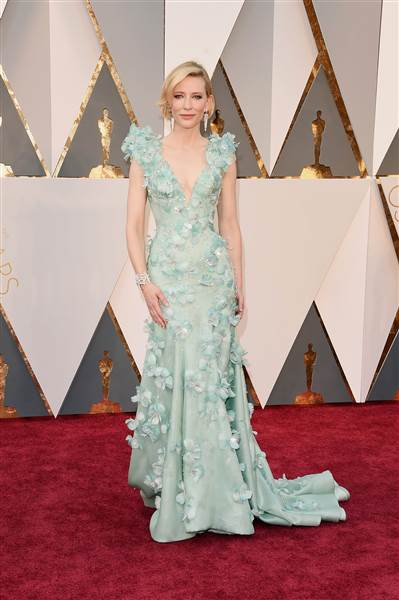 Oscars 2016 red carpet – Cate Blanchett