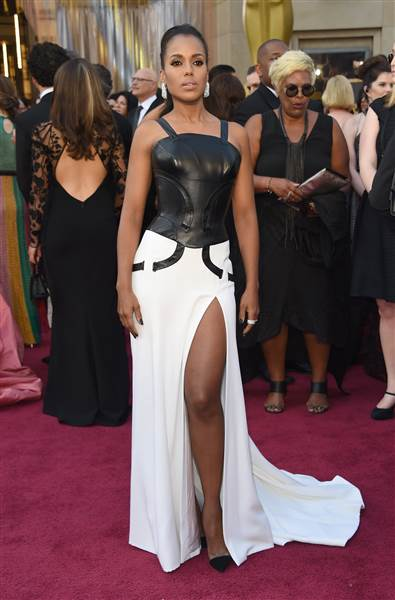 Oscars 2016 red carpet – Kerry Washington