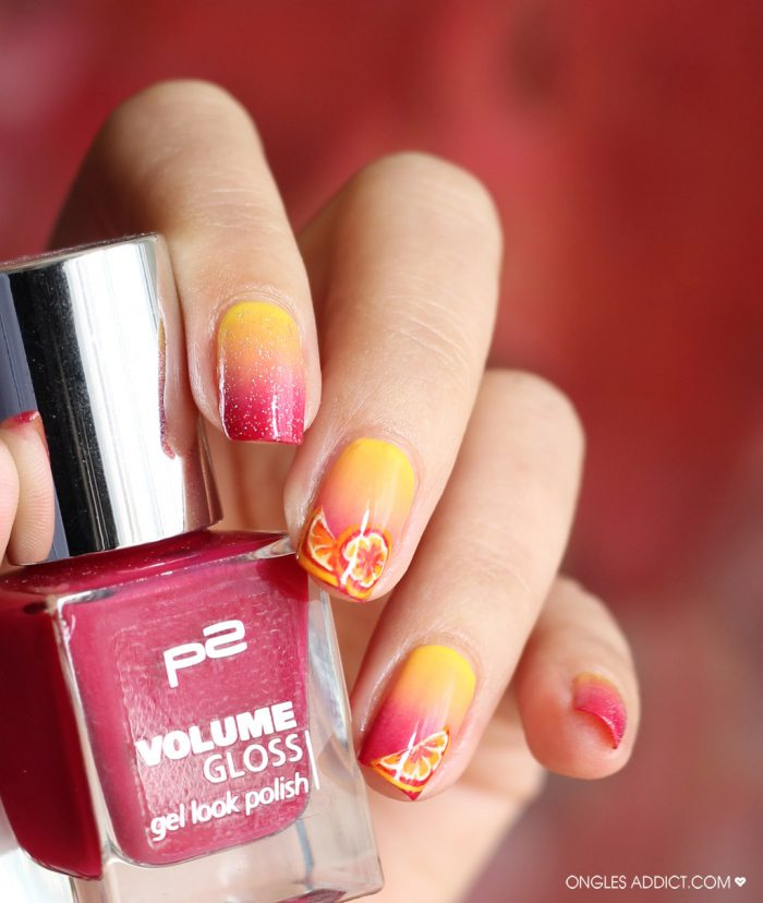 Une Tequila Sunrise – Ongles Addict