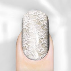 Wedding Nails Lace