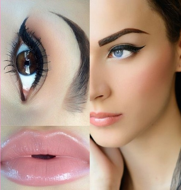 Natural Smokey Eyes With Lipstick According to Your Skin Tone