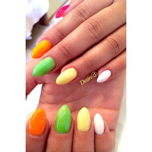 Rainbownails – @desiredragonetti