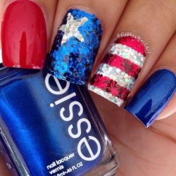 Red, White And Cool Ideas For Your 4th of July Nails – Makeup Tutorials