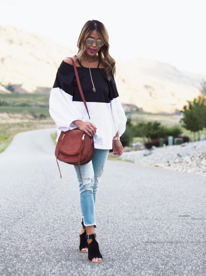 Off-The-Shoulder Trend for Fall?   Gypsy Tan