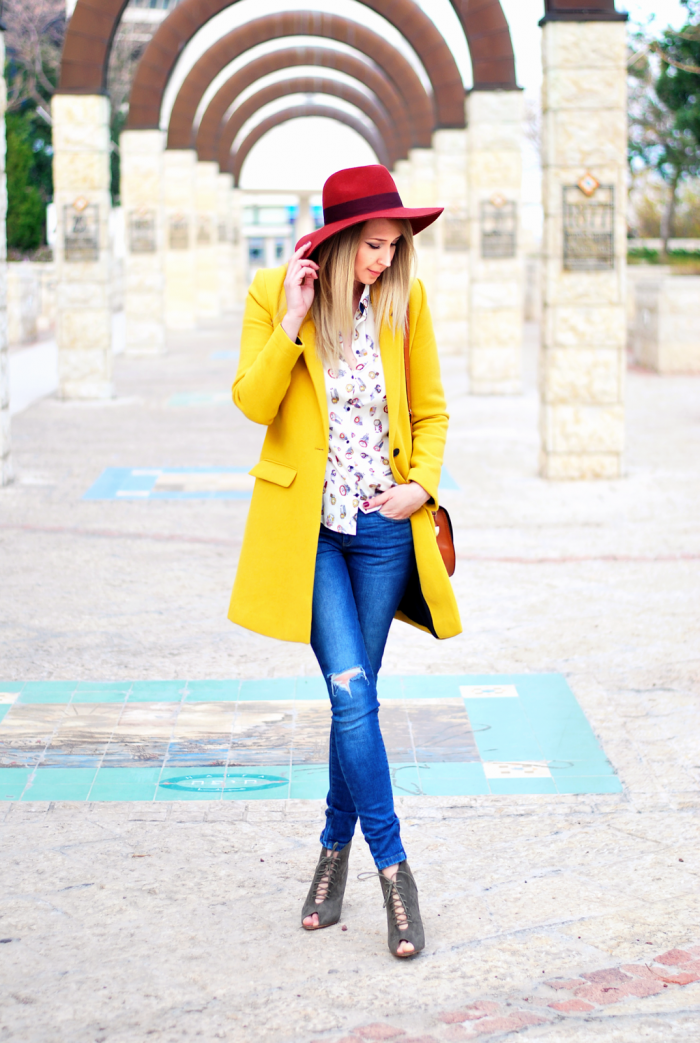 Warm colors for cold day – Fashion addict