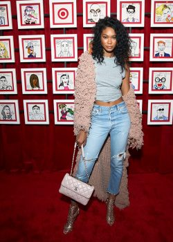 Chanel Iman attends Target NYFW Kickoff Event in New York