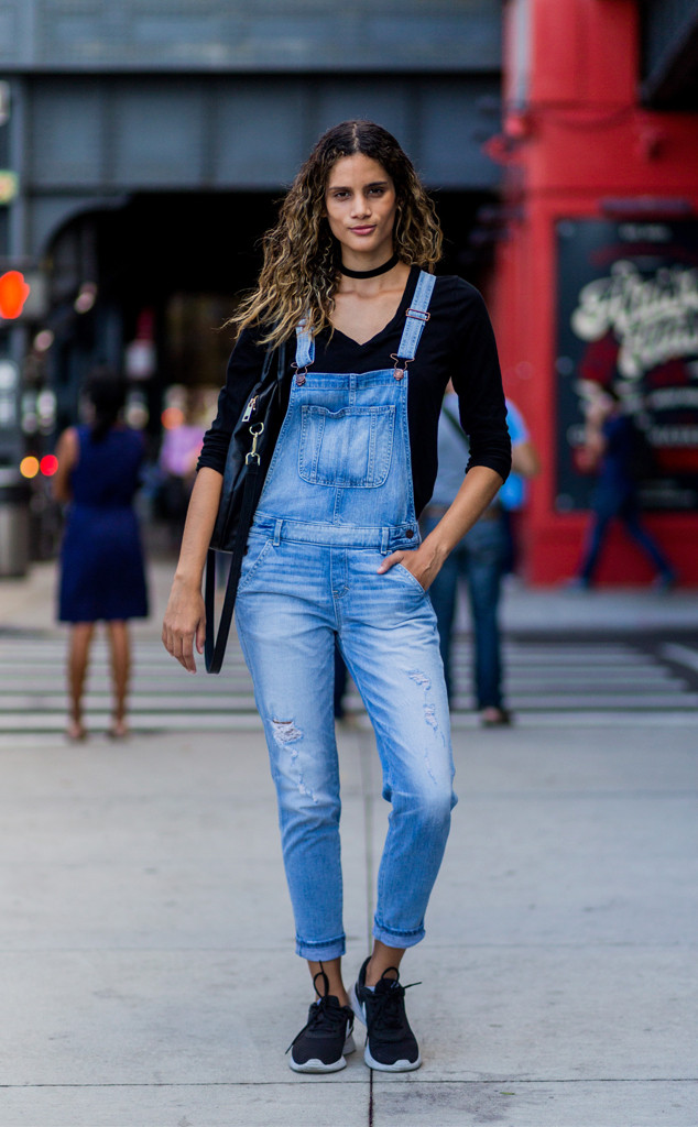Sharon Gallardo from Street Style at New York Fashion Week Spring 2017