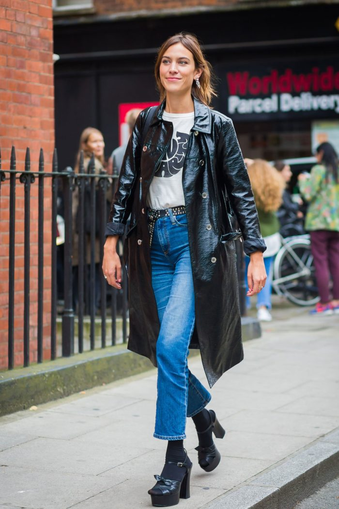 Vogue Runway – Photographed by Phil Oh. Alexa Chung, London Fashion Week, September 2016