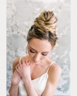 16 High Bridal Buns – Mon Cheri Bridals
