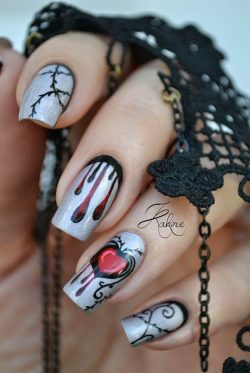 36 Spooktacular Halloween Nail Art Designs  Easyday